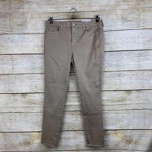 NEW NYDJ Ami Skinny Legging Stretchy Brown Jeans
